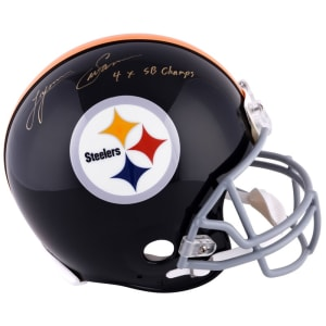 Lynn Swann Pittsburgh Steelers Fanatics Authentic Autographed Riddell Pro-Line Throwback Helmet with 4X SB Champs Inscription
