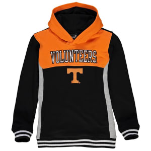 Tennessee Volunteers Youth Throwback Block Hoodie - Black