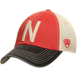 Nebraska Cornhuskers Top of the World Offroad Trucker Adjustable Hat - Red
