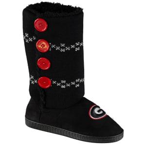 Georgia Bulldogs Women's Button Up Boots