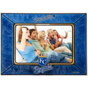 Kansas City Royals Horizontal Art Glass Frame