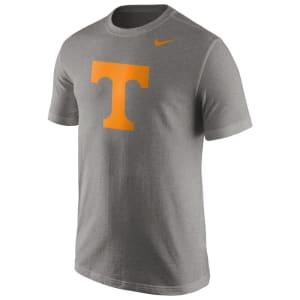 Tennessee Volunteers Nike Logo T-Shirt - Heather Gray