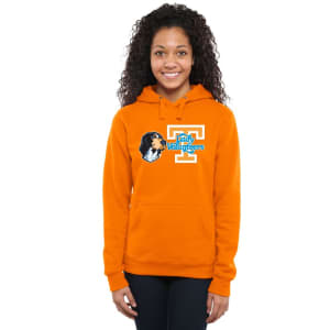 Tennessee Volunteers Women's Smokey Pullover Hoodie - Tennessee Orange
