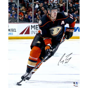 """Corey Perry Anaheim Ducks Fanatics Authentic Autographed 16"""" x 20"""" Skating With Puck Photograph"""