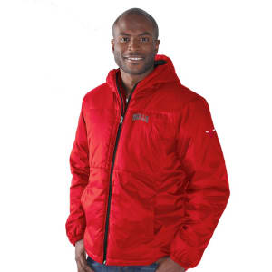 Chicago Bulls G-III Sports by Carl Banks Top of the Key Hooded Full-Zip Jacket - Red