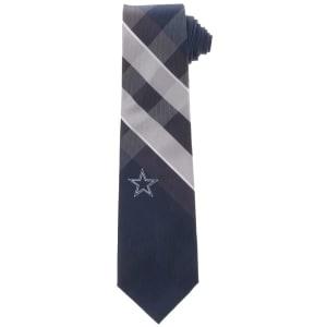 Dallas Cowboys Woven Poly Grid Tie