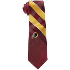 Washington Redskins Woven Poly Grid Tie