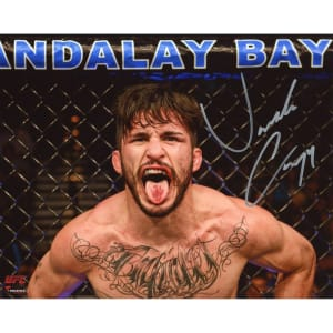 """Ian """"Uncle Creepy"""" McCall Ultimate Fighting Championship Fanatics Authentic Autographed 8"""" x 10"""" Tongue Out Photograph"""