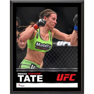 "Miesha Tate Ultimate Fighting Championship Fanatics Authentic 10.5"" x 13"" Sublimated Plaque"