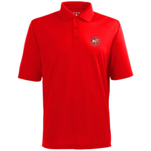 Atlanta Hawks Antigua Pique Xtra-Lite Polo - Red