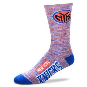 New York Knicks For Bare Feet Women's Promo Quarter-Length Socks