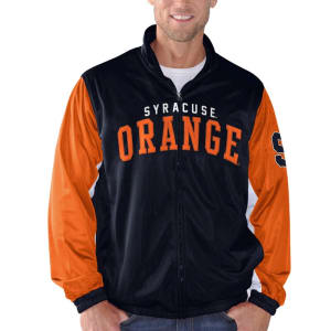 Syracuse Orange G-III Sports by Carl Banks Wild Card Track Jacket - Navy