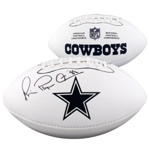 Michael Irvin Dallas Cowboys Fanatics Authentic Autographed White Panel Football -