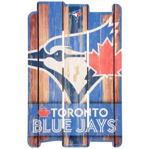 "Toronto Blue Jays WinCraft 16"" x 11"" Wood Fence Sign"