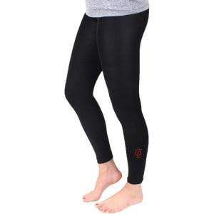 Indiana Hoosiers ZooZatz Women's Fleece Lined Leggings - Black