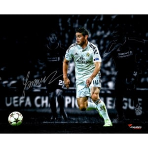 James Rodriguez Real Madrid Fanatics Authentic Autographed 16'' x 20'' Spotlight Photograph- #2-9, 11-49 of a Limited Edition of 50