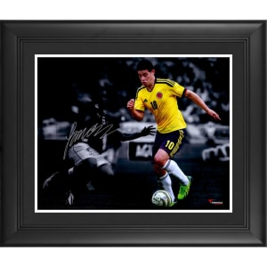 James Rodriguez Colombia Fanatics Authentic Framed Autographed 16'' x 20'' Spotlight Photograph- #2-9, 11-49 of a Limited Edition of 50
