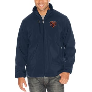 Chicago Bears G-III Sports by Carl Banks Strong Side Soft Shell Jacket - Navy