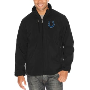 Indianapolis Colts G-III Sports by Carl Banks Strong Side Soft Shell Jacket - Black