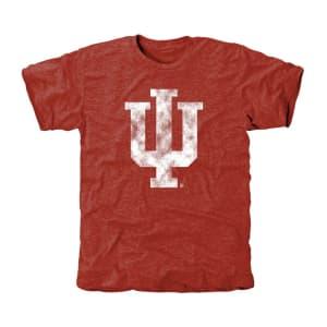 Indiana Hoosiers Classic Primary Tri-Blend T-Shirt - Crimson
