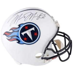 Marcus Mariota Tennessee Titans Fanatics Authentic Autographed Replica Helmet