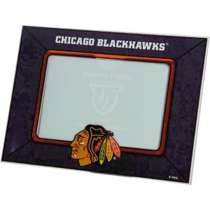 Chicago Blackhawks Horizontal Art Glass Frame