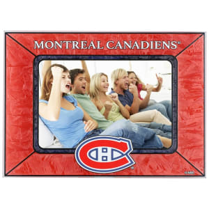Montreal Canadiens Horizontal Art Glass Frame
