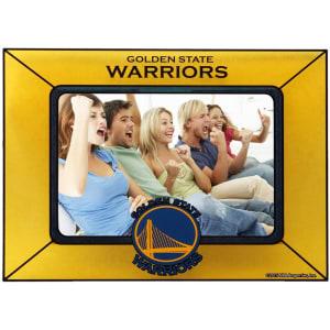 Golden State Warriors Horizontal Art Glass Frame