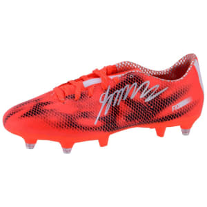 James Rodriguez Real Madrid Fanatics Authentic Autographed Orange Adidas Soccer Cleats