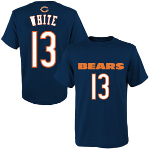 Kevin White Chicago Bears Youth Mainliner Name & Number T-Shirt - Navy
