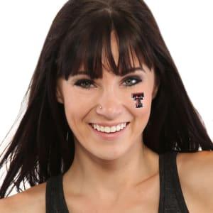 Texas Tech Red Raiders 4 Pack Waterless Fandazzlerz Tattoos