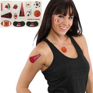 Louisville Cardinals 14-Piece Waterless Tattoo Assortment Pack