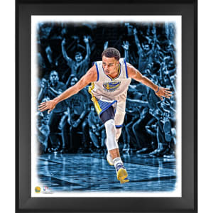 Stephen Curry Golden State Warriors Fanatics Authentic Framed 20'' x 24'' Arms Spread In the Zone Photograph