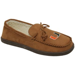 Miami Hurricanes Moccasin Slippers