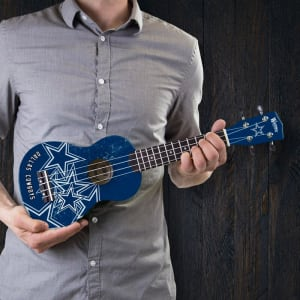 Dallas Cowboys Denny Ukulele