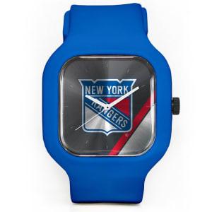New York Rangers Modify Watches Unisex Silicone Watch - Blue