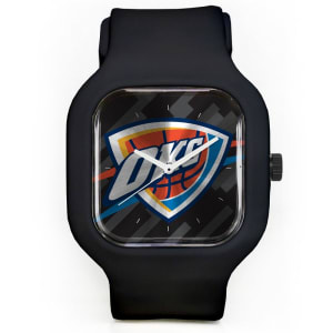 Oklahoma City Thunder Modify Watches Unisex Silicone Watch - Black