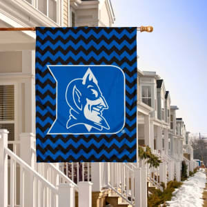 "Duke Blue Devils Double-Sided 28"" x 40"" Chevron Fashion House Flag"