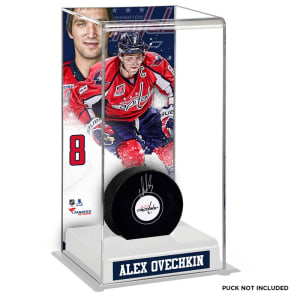 Alex Ovechkin Washington Capitals Fanatics Authentic Deluxe Tall Hockey Puck Case