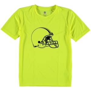 Cleveland Browns Youth Neon Logo T-Shirt - Yellow