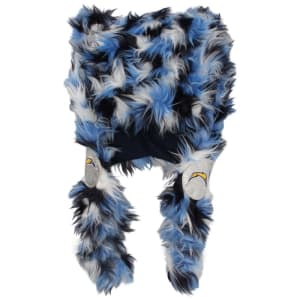 Los Angeles Chargers Fluffy Plush Hat