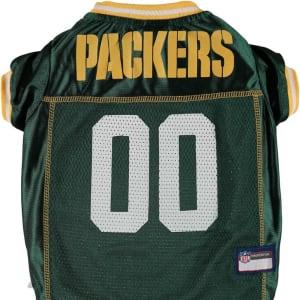 Green Bay Packers Mesh Dog Jersey