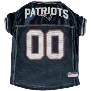 New England Patriots Mesh Dog Jersey
