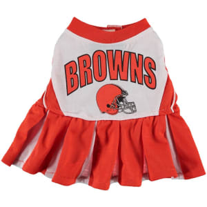 Cleveland Browns Cheerleader Pet Outfit