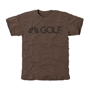 Golf Channel Tri-Blend T-Shirt - Brown