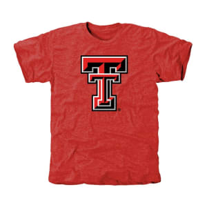 Texas Tech Red Raiders Classic Primary Tri-Blend T-Shirt - Red