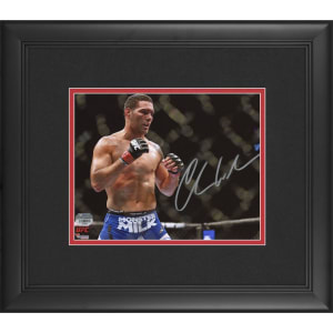 Chris Weidman Ultimate Fighting Championship Fanatics Authentic Framed Autographed 8'' x 10'' Horizontal Stance Photograph