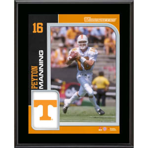 Peyton Manning Tennessee Volunteers Fanatics Authentic 10.5'' x 13'' Sublimated Plaque