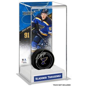 Vladimir Tarasenko St. Louis Blues Fanatics Authentic Deluxe Tall Hockey Puck Case