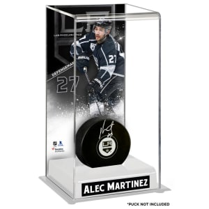 Alec Martinez Los Angeles Kings Fanatics Authentic Deluxe Tall Hockey Puck Case